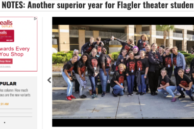 SCHOOL NOTES: Another superior year for Flagler theater students